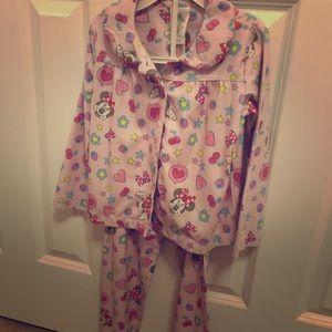 Disney Minnie Fleece Pajama, size 4